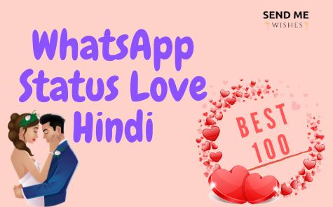 whatsapp status love hindi